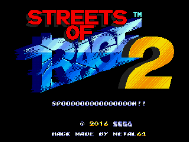 Play <b>Tick in Streets of Rage 2</b> Online